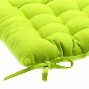 Coussin Vert Anis : coussin de chaise lina vert anis galette et coussin de chaise eminza ~ Teatrodelosmanantiales.com Idées de Décoration