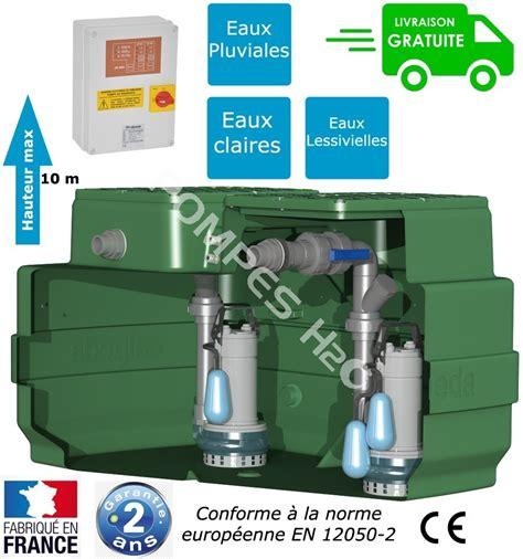 micro station de relevage eaux usées station de relevage 233 quip 233 2 pompes eaux pluviales ou