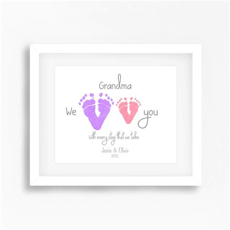 day presents mothers day gift from grandkids personalised mothers day gift