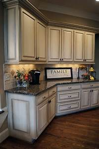 How to paint antique white kitchen cabinets step by step for What kind of paint to use on kitchen cabinets for huge wall art pieces