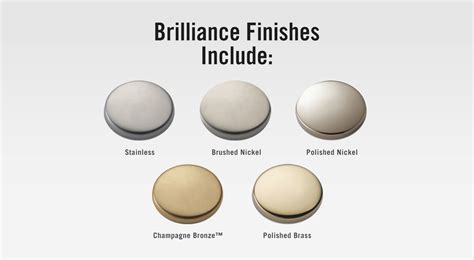 what color is brushed nickel brilliancefinishes
