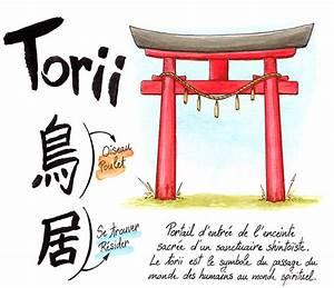 Maison Japonaise Dessin : torii les portes du japon joranne bagoule blog sur le japon en bd ~ Melissatoandfro.com Idées de Décoration