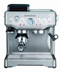 Kaffeevollautomat Mit Mahlwerk Test : gastroback kaffeemaschine die besten 5 in unserem vergleich ~ Watch28wear.com Haus und Dekorationen