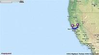 Driving Directions from Sacramento, California to Bodega ...