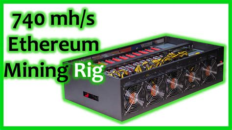 The modular nature also means that you're not turning the mining rig into a spaghetti of. RX5700 one of the best Ethereum mining cards , 740 mh/s mining rig. - Mineshop