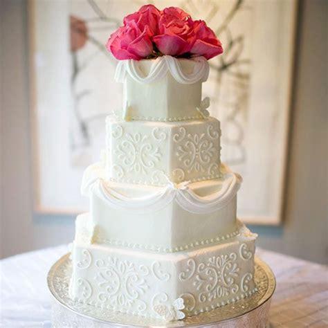 hexagon wedding cake ideas  pinterest