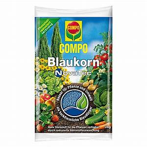 Npk Dünger Zusammensetzung : compo npk d nger blaukorn novatec 3 kg bauhaus ~ Frokenaadalensverden.com Haus und Dekorationen