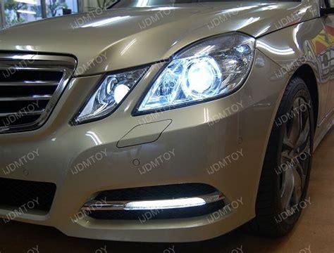 led mercedes parking light w212 class e350 lights hid xenon e320 6000k e550 matching position legal upgrade street