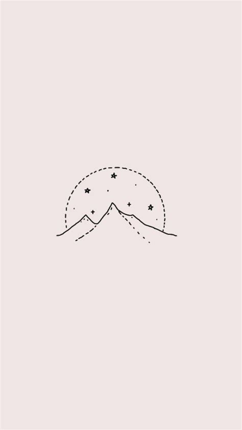 Aesthetic Lock Screen Wallpaper Minimalist by Mountain Wallpapers Backgrounds And Lockscreens