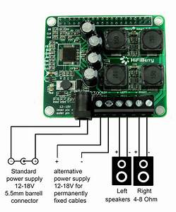 Amp   Connecting Power Supply And Speakers