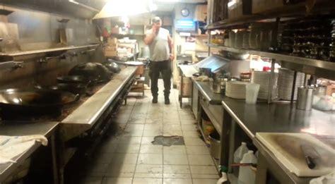 restaurant la cuisine l 39 état dégoutant de la cuisine d 39 un restaurant chinois