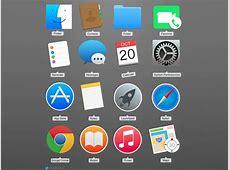 Apple Mac Yosemite OSX icons Sketch freebie Download