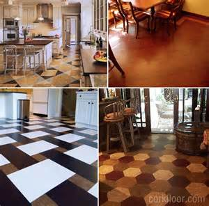 kitchen floors ideas kitchen floors how i decided to use cork tiles pretty handy