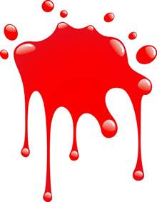 similiar preschool red paint splotch keywords