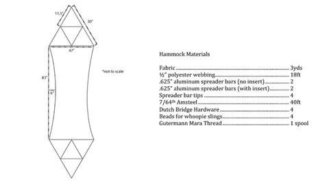 Bridge Hammock Pattern by Diy Bridge Hammock Pattern Diy Unixcode