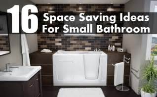 bathroom space saving ideas 16 brilliant space saving ideas for small bathroom diy home creative ideas for home