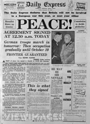 images  places pictures  info munich agreement