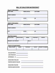 watercraft bill of sale free 7 boat bill of sale forms in pdf ms word