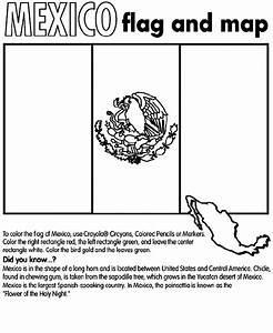 Mexico Coloring Page Crayolacom
