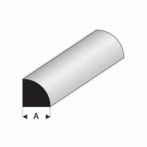 Quart De Rond : profil s blanc styr ne quart de rond plein ~ Melissatoandfro.com Idées de Décoration