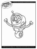 Coloring Pages Space Aliens Below Any sketch template