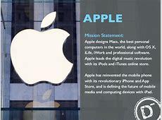 APPLE Mission Statement Apple designs