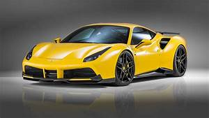 Wallpaper NOVITEC ROSSO Ferrari 488 gtb, supercar, yellow