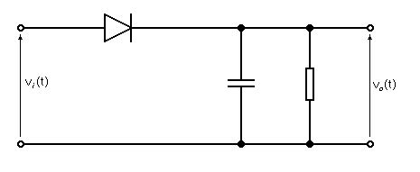 Modulation Time Constant Diode Detector