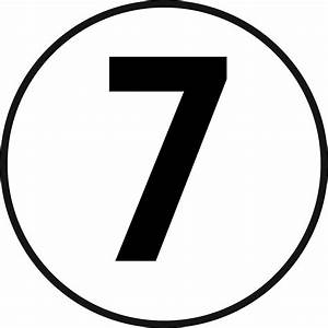 QuotLUCKY 7 Old School Racing 7 SEVEN Seventh Number