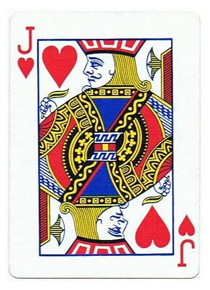 Hearts Playing Cards Jack Clip Poker Card