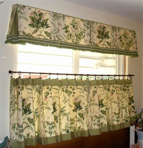 kitchen curtains and valances ideas how to cafe curtains for kitchen feel the home