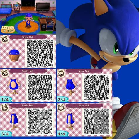 Where Do You Buy Wallpaper In Animal Crossing New Leaf - animal crossing new leaf sonic costume by adversethegamer