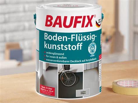 Flüssig Boden Kunststoff by Baufix Boden Fl 252 Ssig Kunststoff Garagen Bodenfarbe