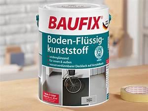 Betonfarbe Außen Terrasse : baufix boden fl ssig kunststoff garagen bodenfarbe ~ Michelbontemps.com Haus und Dekorationen