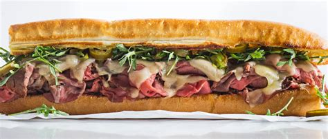 roast beef sandwich  charred scallions