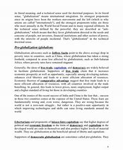Globalization advantages and disadvantages essay for ielts