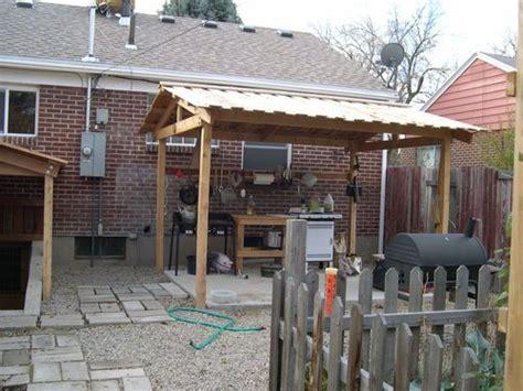 Primitive Outdoor Kitchen For Gardeners