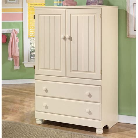 cottage retreat door chest signature design  ashley furniture furniturepick