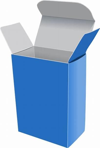 Box Clip Crayon Vector Clipart Svg Open