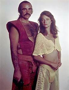 Sean Connery And Charlotte Rampling In Zardoz -1974 ...