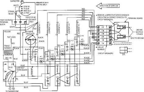 Goodman Electric Furnace Sequencer Wiring Diagram