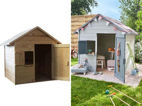 cabane de jardin enfant 6 cabanes en bois pour enfant 224 prix light joli place