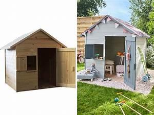 Cabane Enfant Leroy Merlin : 6 cabanes en bois pour enfant prix light joli place ~ Melissatoandfro.com Idées de Décoration