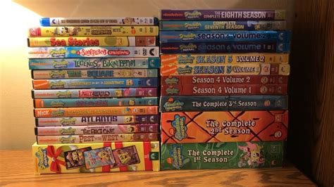 My Complete Spongebob Dvd Collection (2018)