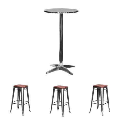 aluminium top cocktail table bundle ehire