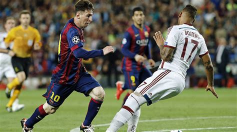 Messi Taught Boateng One Lesson To Make Him The Best ...
