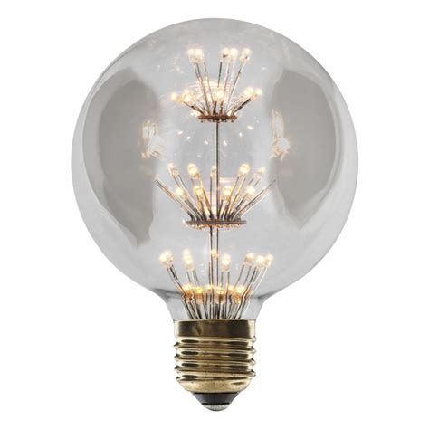 globe led light bulb edison vintage g95 t9 retro