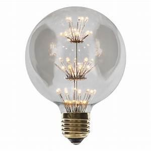 Ampoule Vintage Led : ampoule led e27 globe vintage g95 t9 edison industrielle ~ Edinachiropracticcenter.com Idées de Décoration