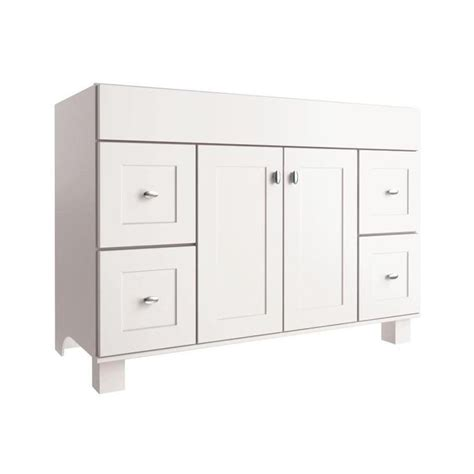 allen roth bathroom vanities canada allen roth palencia white 48 in w x 21 in d white