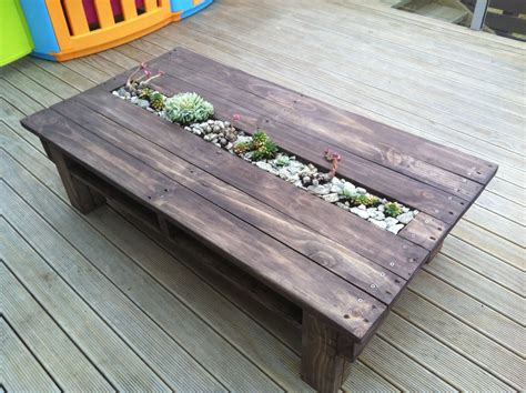 Furniture Made With Pallets by Pallet Coffee Table Planter Free Wood Projects In 2019